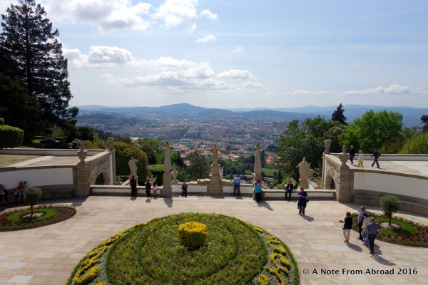 The view overlooking Braga