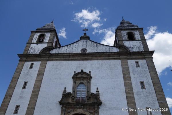 The church of Santa Maria da Devesa