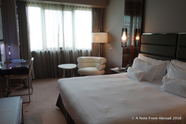 Hotel room in Lisbon