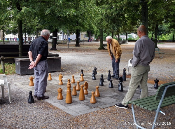 Perhaps a game of chess
