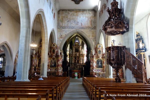 Interior Franziskanerkirche