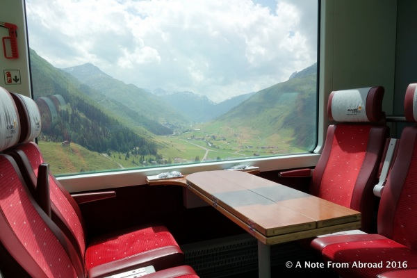 Grab a seat and join us on the Glacier Express