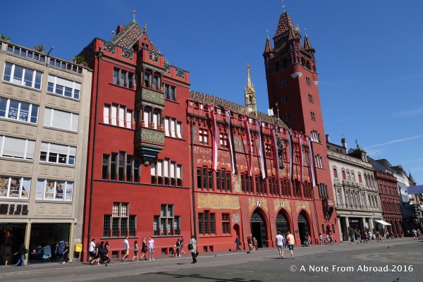 City Hall, Basel