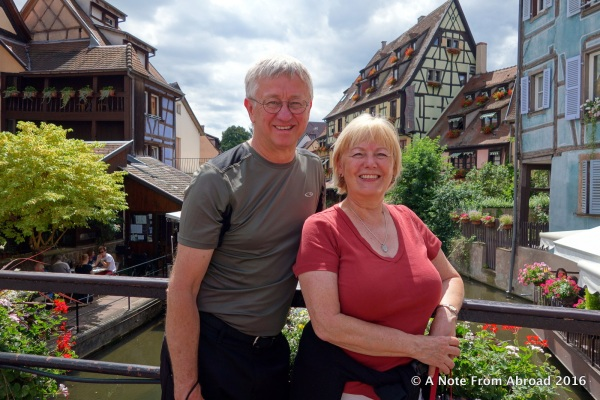 Tim and Joanne in Colmar