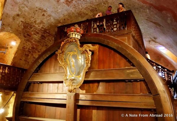 Heidelberg wine barrel