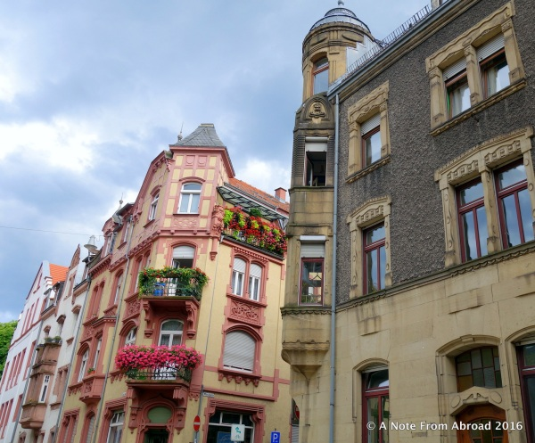 More Old Town buildings