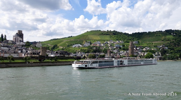 Rhine River - Somehow this captured the magic of the day