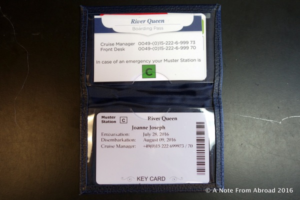 Keycard for River Queen