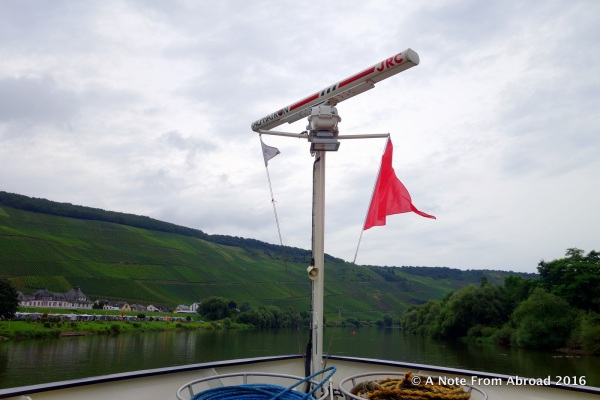 Cruising along the Moselle River