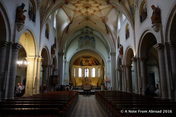 Interior of Basilica