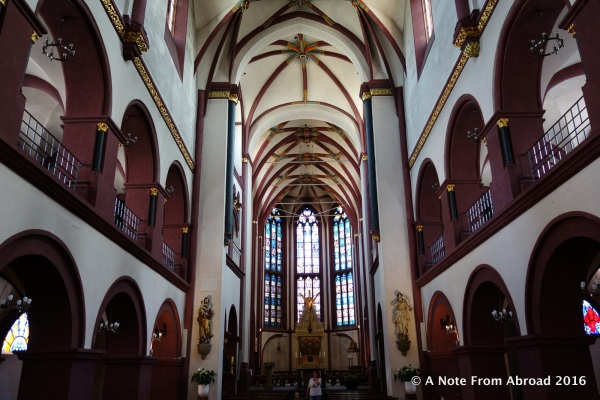 Interior of Liebfrauenkirche