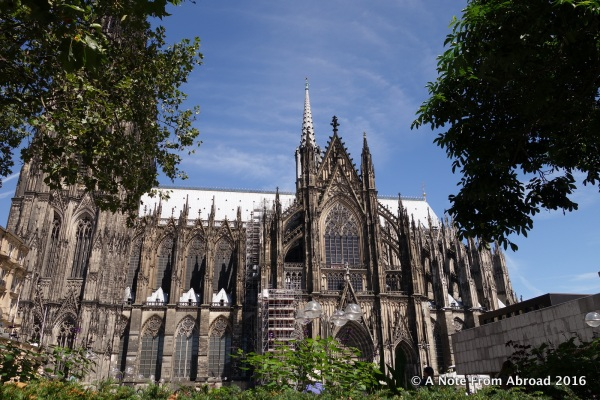 Exterior of Cologne Cathedral