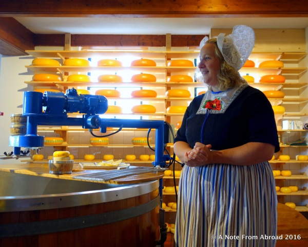 Learning about how cheese is made