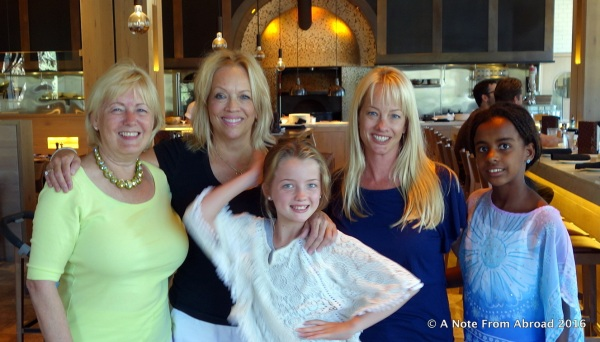 Joanne, Mary Beth, Allie, Leslie, Averie