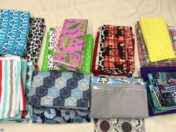 Fabric for blankets