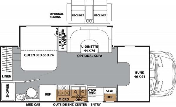 2200 LE Floorplan