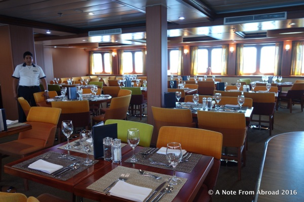 Dining Room - Breakfast and lunch are buffet, but dinner is served from menu