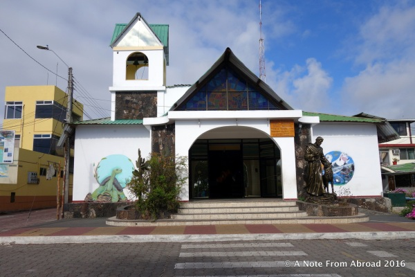 Church in Puerto Ayora