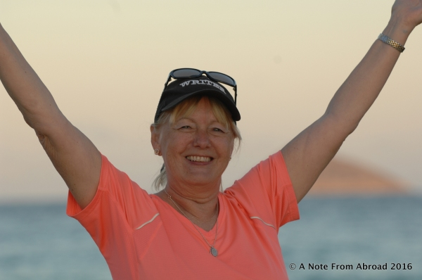 Jubilation for being able to realize a life time dream of seeing the Galapagos Islands!