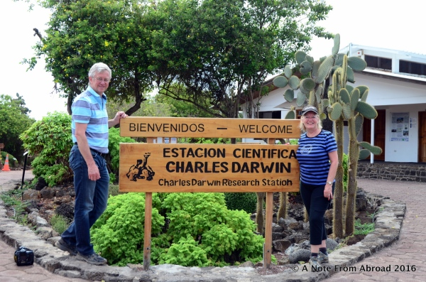 Welcome to the Charles Darwin Center
