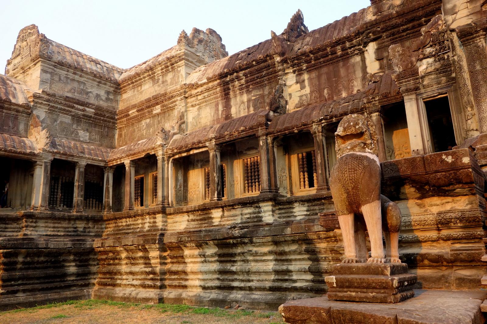 CAMBODIA ~ Angkor Thom, Ta Prohm and Angkor Wat for Sunset