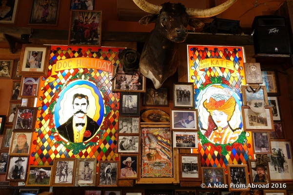Inside Big Nose Kate's Saloon