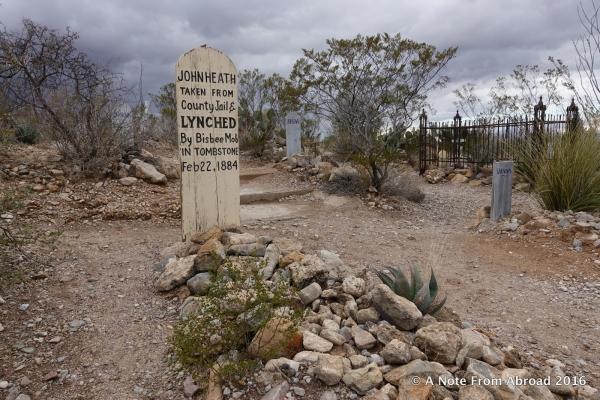 Boothill Graveyard, Tombstone, Arizona