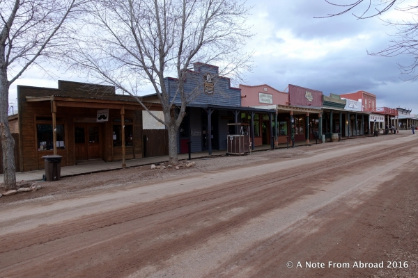 This is the main street of Tombstone