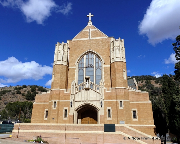 St Patrick Catholic Church from 1917, is listed on the National Register of Historic Places