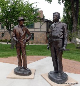 Oppenheimer and Groves