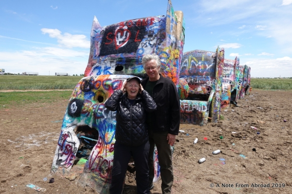 TEXAS: Cadillac Ranch and Palo Duro Canyon | A Note From Abroad