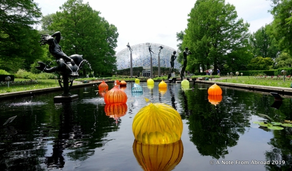 St Louis Missouri Botanical Garden A Note From Abroad